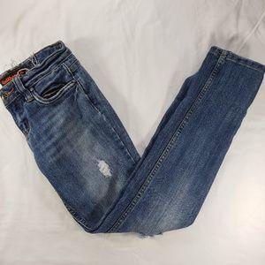 Dollhouse Medium Wash Distressed Jeans